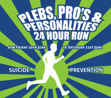 plebs, pros and personalities for suicide prevention australia